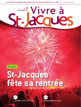 fête sa rentrée - Saint Jacques de la Lande