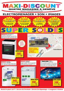 super soldes - Maxidiscount