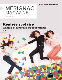 Télécharger le Mérignac magazine de