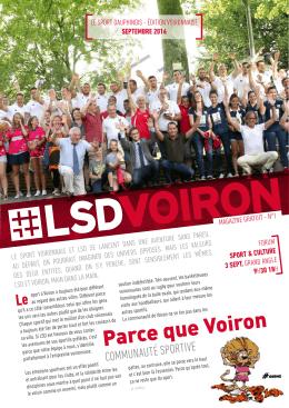 LSD Voiron - Le Sport Dauphinois