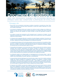 Document de politique Document de politique