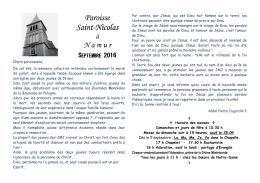 Paroisse Saint-Nicolas
