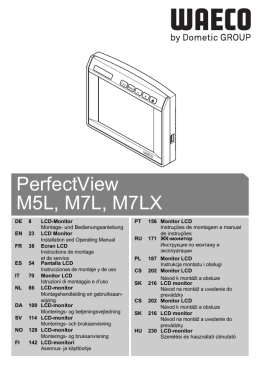 PerfectView M5L, M7L, M7LX - Re