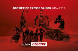 dossier de presse saison 2016-2017 - Blog