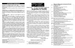 Feuillet SMRDC - Sanctuaire Marie Reine des Coeurs