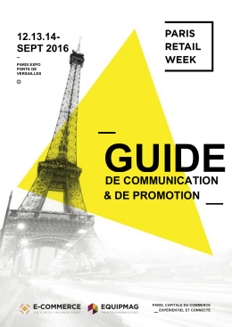 Guide de Communication et de Promotion