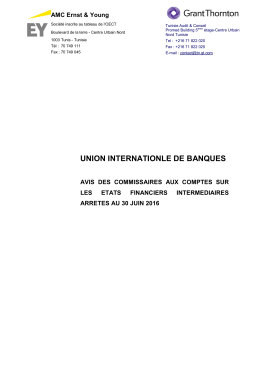 union internationle de banques
