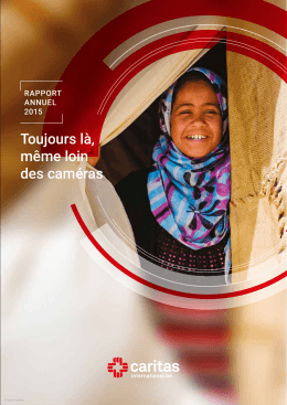 rapport annuel 2015 - Caritas International
