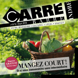 Magazine CARRE BARRE #9 WEB