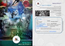 2016.17 Brochure MJC.pub