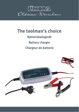 The toolman`s choice