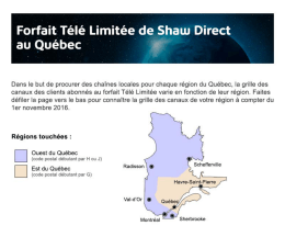 Ouest du Québec