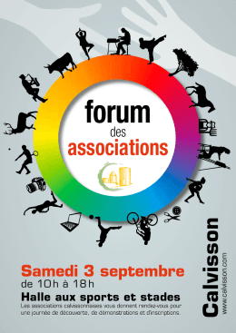 Forum des associations Calvisson