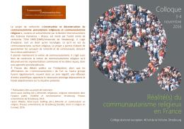 2016-11 communautarisme strasbourg_programme