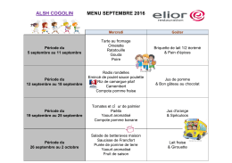 menu planete mercredi septembre 2016