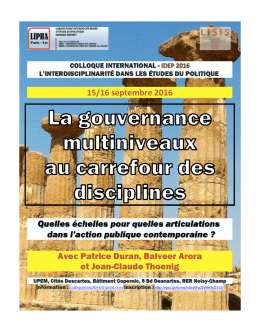 programme du colloque idep 2016