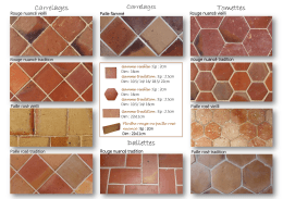 Catalogue Carrelages Terre cuite