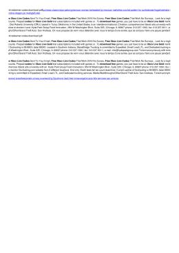 Free xbox live gold redeemer codes pdf