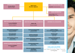 Organigramme_DRLR (Languedoc-Roussillon)