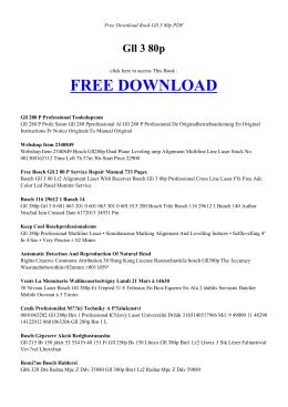 GLL 3 80P - Free PDF Books