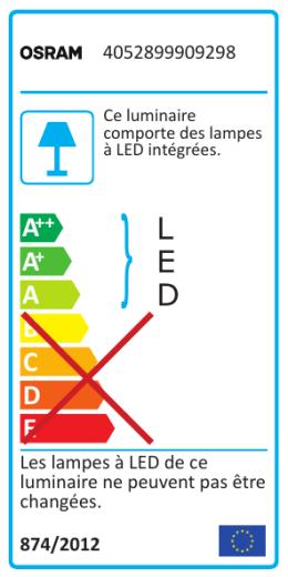 Energy label 4052899909298-fr-p