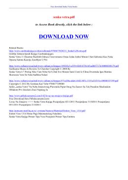 senka vetra pdf