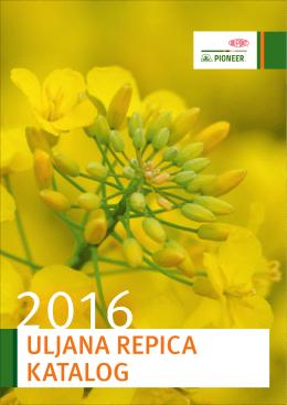 Uljana repica - katalog 2016
