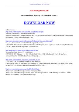 daktanol gel cena pdf