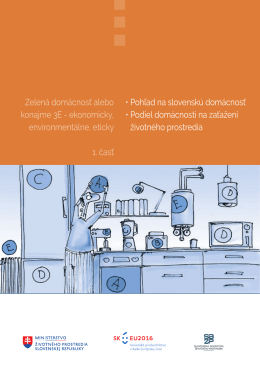 1. časť Pohľad na slovenskú domácnosť, Podiel domácností na