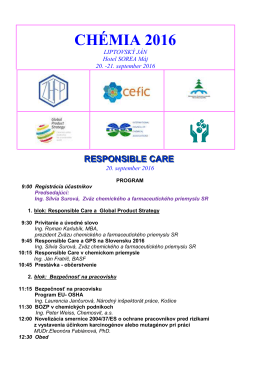 responsible care – program