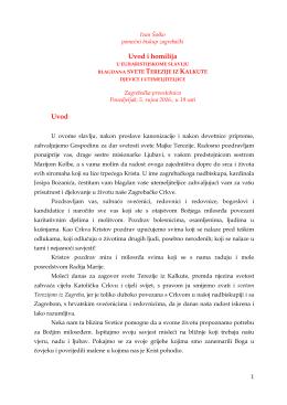 homilija biskupa šaška - Zagrebačka nadbiskupija