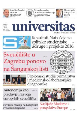 Universitas - br. 82 - Sveučilište u Splitu