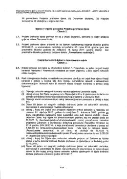 izvadak iz nacrta Ugovora