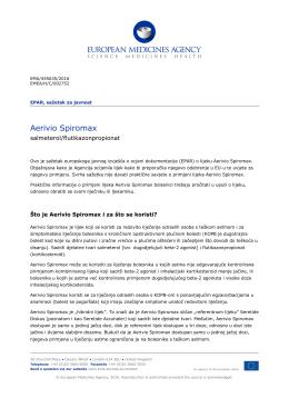 Aerivio Spiromax, INN-salmeterol/fluticasone propionate