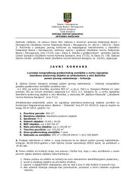 javnikonkurs - Općina Centar