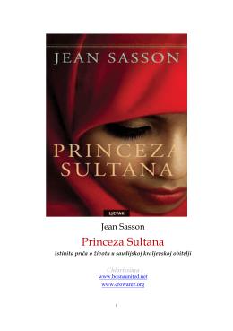 J. Sasson, Princeza Sultana