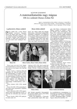 Kántor Sándorné: A matematika
