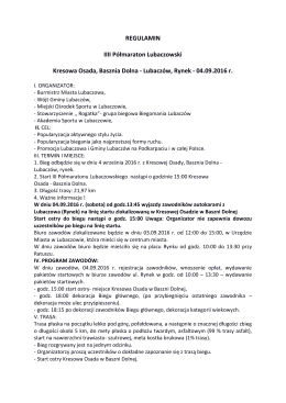 Lubaczów, Rynek - 04.09.2016 r.