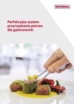 Perfekcyjny system przyrządzania potraw dla gastronomii.