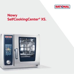 Nowy SelfCookingCenter® XS.