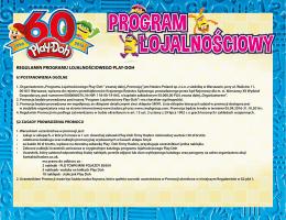 regulamin programu lojalnościowego play-doh