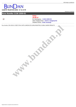 Rura tłumika 1136-1050-01