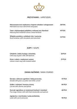 Menu lunch PDF