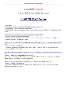 programi alpha biznes pdf