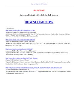 DIN 43670 PDF