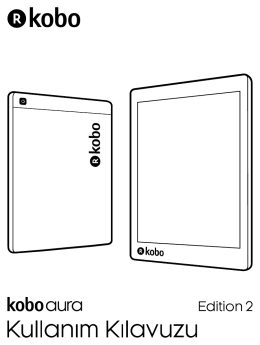 Kobo Aura Sürüm 2 Kullanıcı Kılavuzu