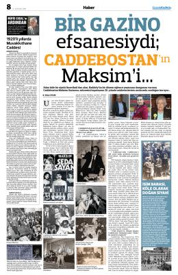 ın - Gazete Kadıköy