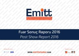 Fuar Sonuç Raporu