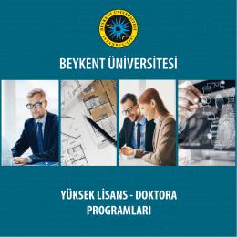 yüksek lisans - Beykent Üniversitesi