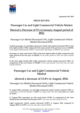 PRESS REVIEW Passenger Car and Light Commercial
